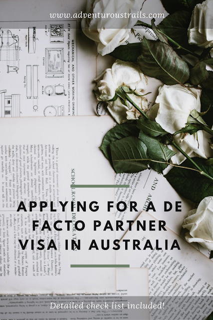 Read more about how I applied for my de facto partner visa for Australia and what I included in my application.