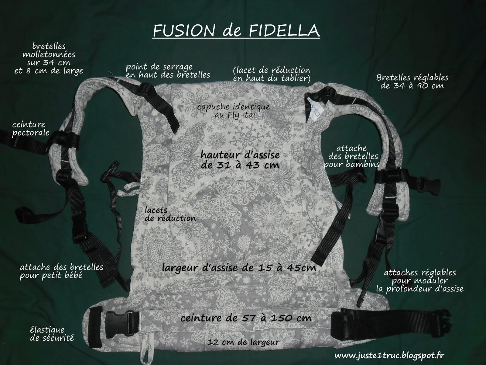 fusion fidella fullbuckle préformé test avis portage babywearing dimensions  caractéristiques porte-bébé 218e4f80acb