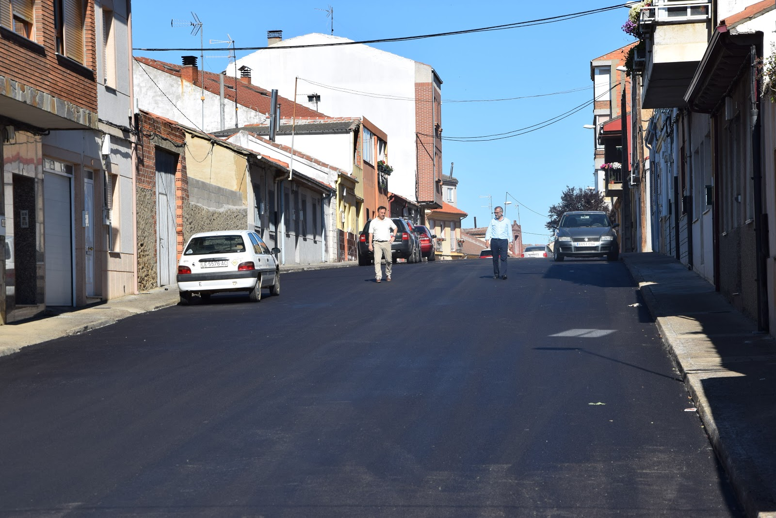 Circuito Urbano La Bañeza : La bañeza hoy plan de asfaltado en la bañeza