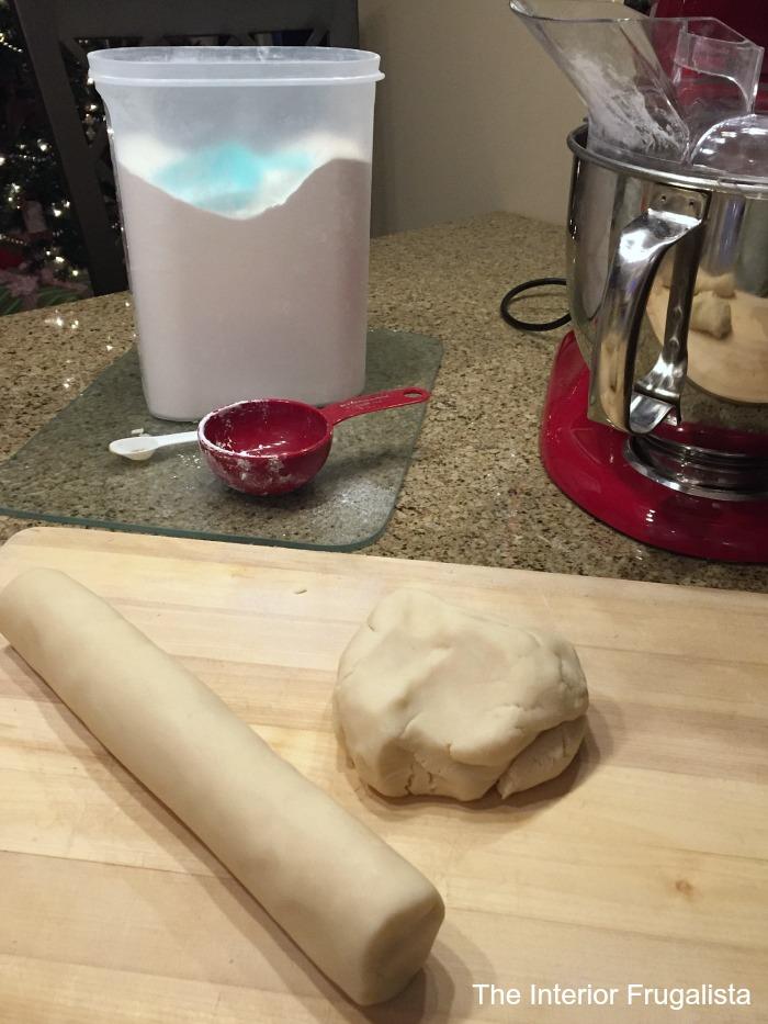 Traditional Shortbread Cookie Dough
