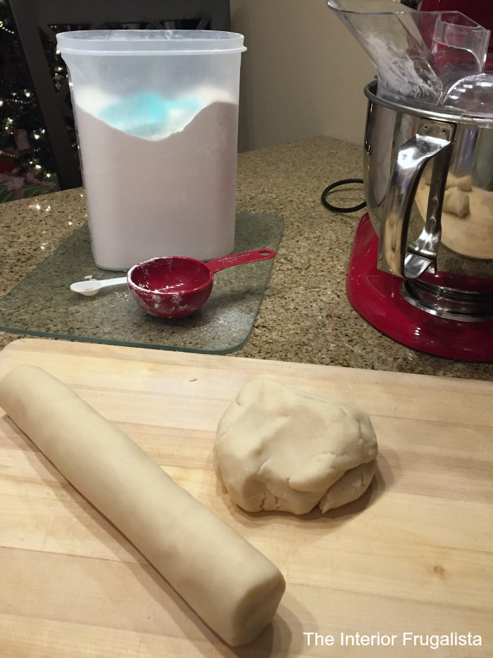 Mom's traditional melt in your mouth shortbread cookie recipe that has been in our family for generations with a lovely untraditional lavender twist.