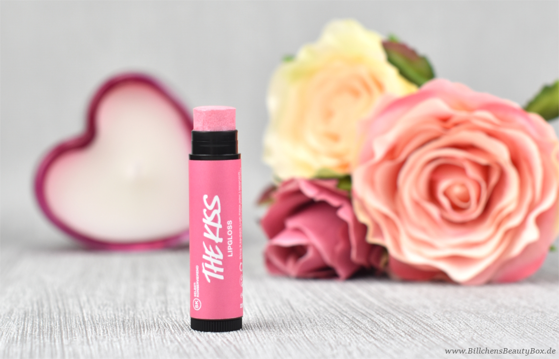 LUSH Valentinstags-Kollektion Review - The Kiss Lippenbalsam - Lipgloss