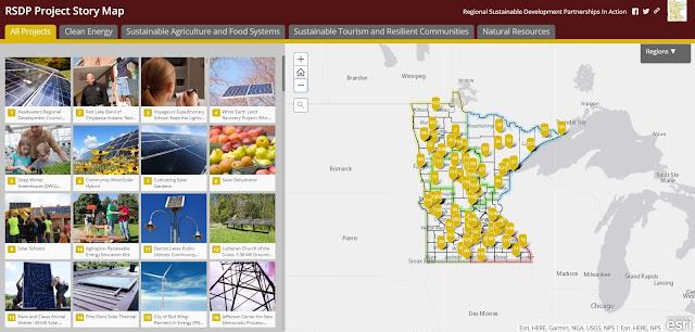 RSDP StoryMap screenshot; link to interactive map