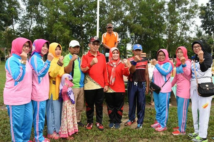 Peringati HUT ke 19 Kabupaten Lamtim Kembali di Gelar di Lapangan Merdeka Batang Hari