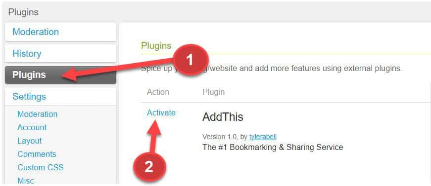Add plugins