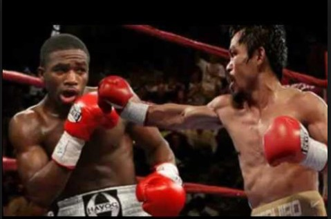 Manny Pacquiao fight against Adrien Broner
