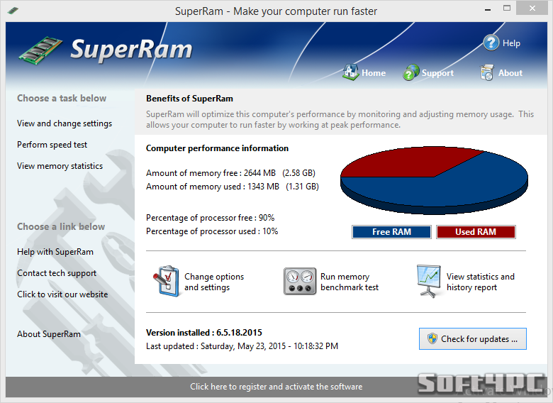 PGWare SuperRam 6.5.18.2015 + Key