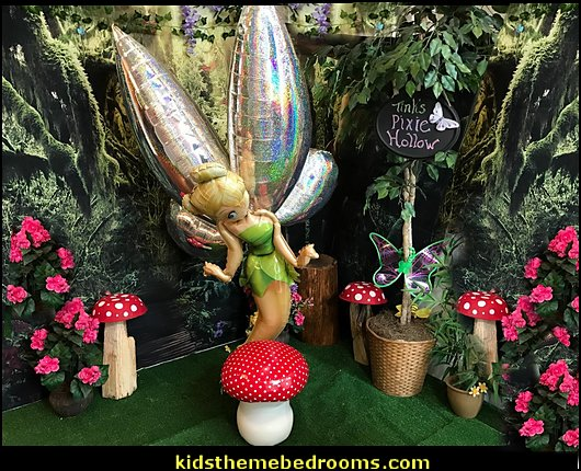 tinkerbell balloons  tinkerbell party supplies - Tinkerbell party decorations - Disney fairies party supplies - party themes fairies -  tinkerbell peter pan party supplies - tinkerbell costume -