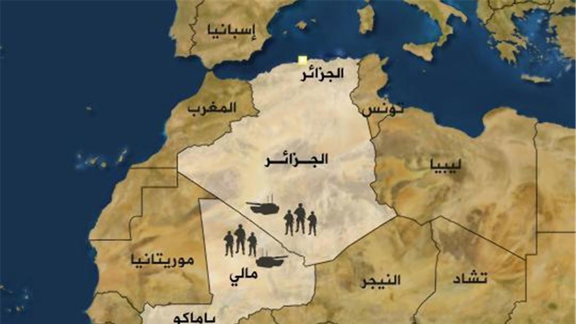 التهديدات الامنية في ليبيا وتداعياتها على دول الجوار: دراسة حالة الجزائر 2011-2017