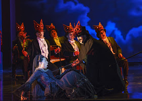 Verdi: Un ballo in maschera -  Mary Elizabeth Williams, Jihoon Kim - Welsh National Opera - (Photo © Bill Cooper)