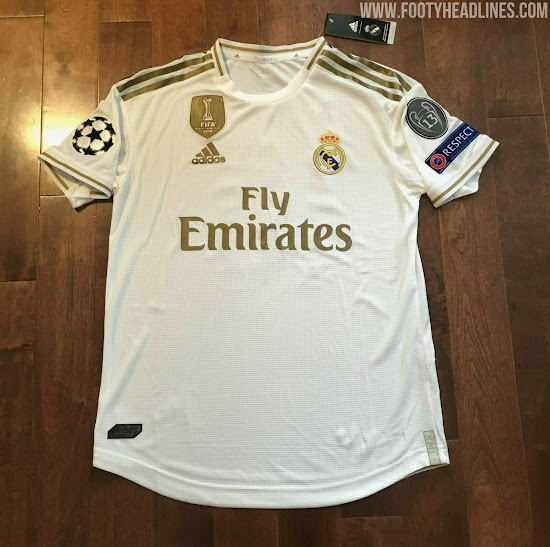 Adviento hierba solicitud  UPDATE: Adidas To Release NO Real Madrid 20-21 Champions League Kit Almost  Certainly - Footy Headlines
