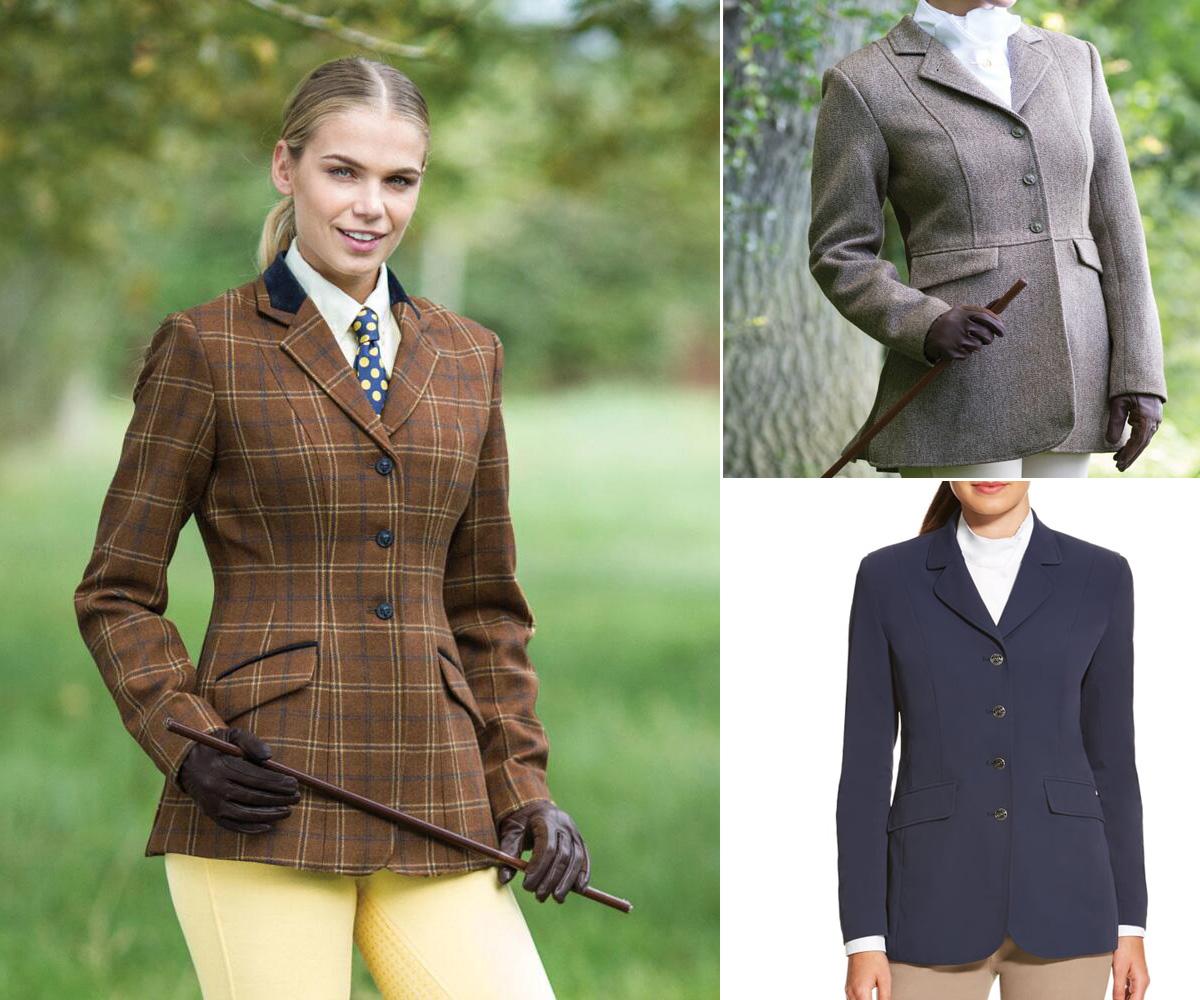 3 hunt coats