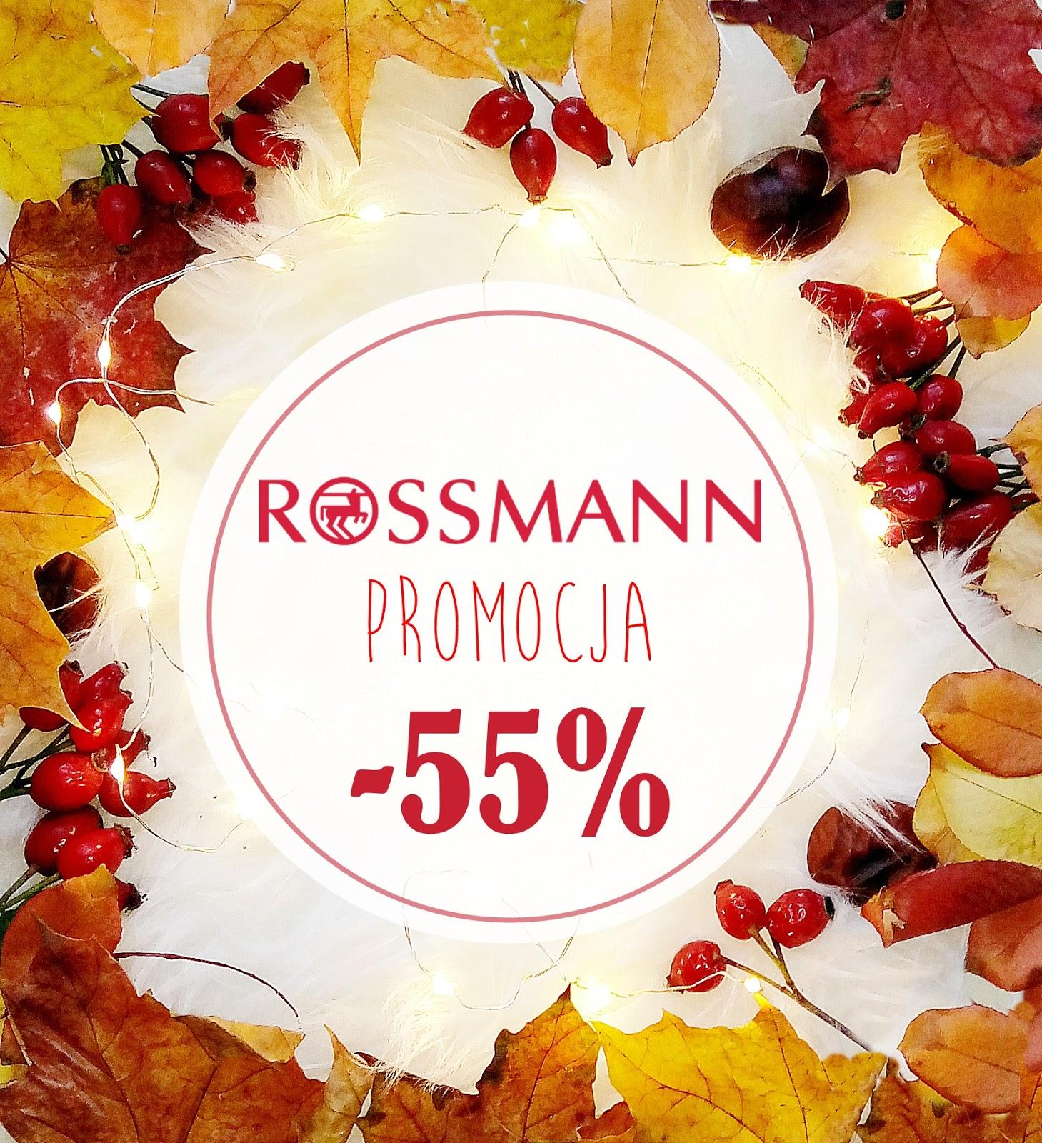 Promocja -55% w Rossmannie-co warto kupić, podsumowanie +bonus lista zakupów do druku