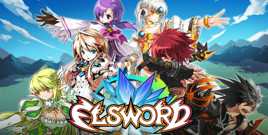 characters Elsword online