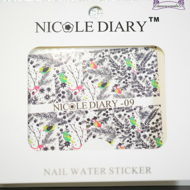 Nicole Diary #09 Water Decals Review