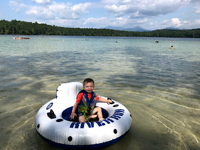 Toddler at White Lake State Park