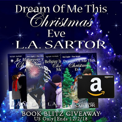 Dream of Me This Christmas Eve book blitz giveaway ends 12/2/18