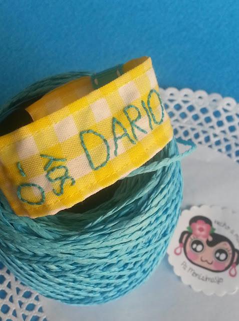pulsera identificativa por si se pierde @pamonisimayo