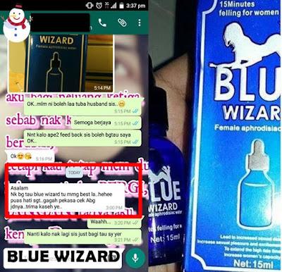 blue wizard cecair terbaik untuk menaikkan nafsu wanita
