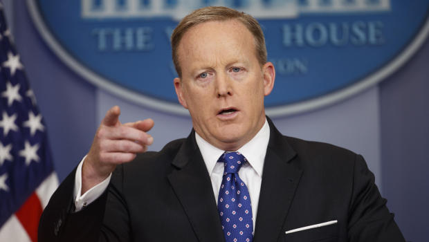 In Spicer's new book, praise for Trump, criticism for press