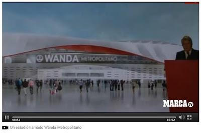 El Atlético de Madrid presenta el Wanda Metropolitano y nuevo escudo Wanda Metropolitano el nuevo estadio del Atlético de Madrid - Atlético de Madrid - Wanda - Wanda Metropolitano - Nuevo escudo del Atlético de Madrid - el troblogdita
