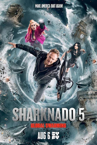 Sharknado 5: Global Swarming (BRRip 720p Ingles Subtitulada) (2017)