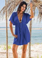 Modelo fresquinho para você passear ou sair da praia e piscina super de bem com a vida e em alto estilo
