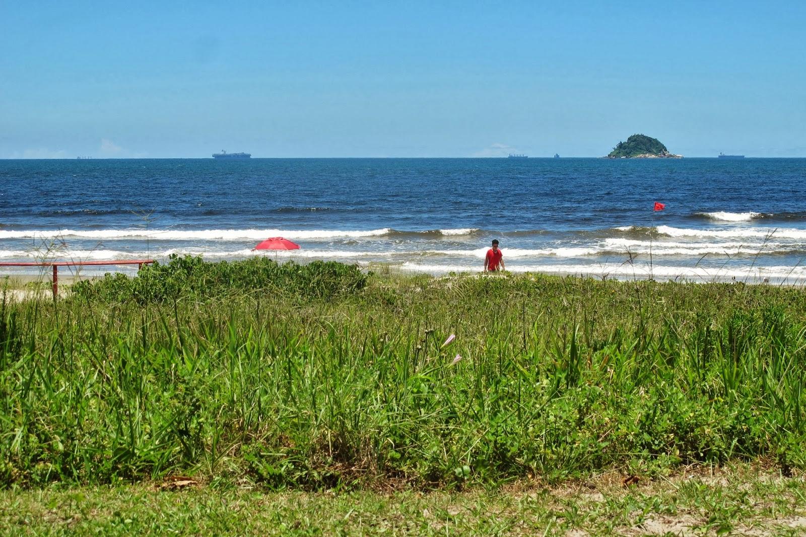 Praia da Enseada, em São Francisco do Sul, no litoral de Santa Catarina.