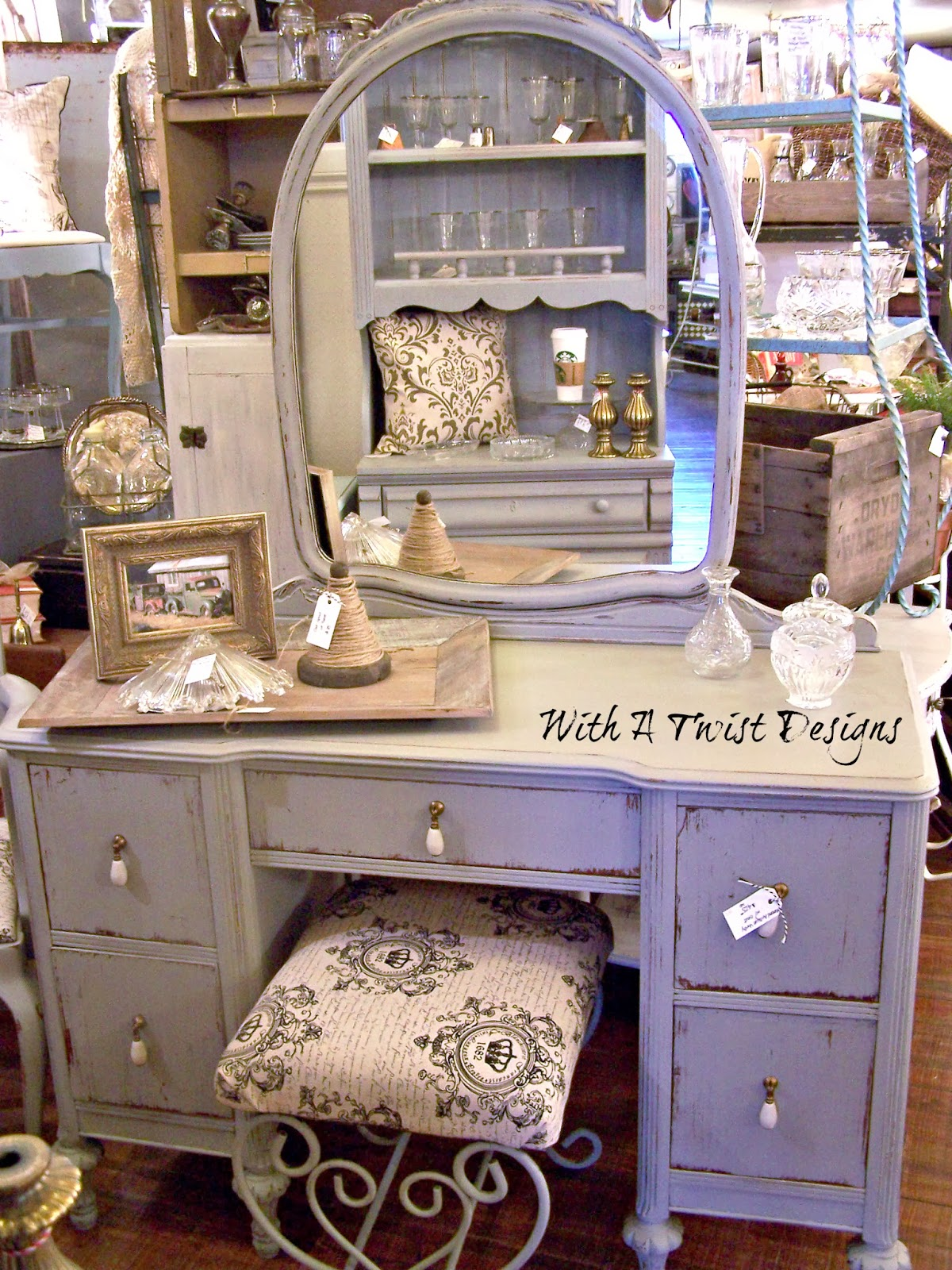 If You Are Interested In Checking Out This New Paint By Vintage Market Design