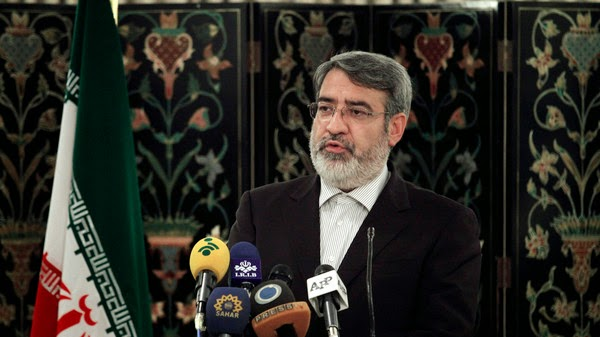 "Iran's Interior Minister Abdolreza Rahmani Fazli said political life in the Islamic Republic was tainted by ""dirty money"""