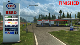 recommendedmodsets2, ets2 mods, euro truck simulator 2 mods, ets2 graphic mod, ets 2 realistic gas stations, ets 1.32, ets 2 real european gas station reloaded v1.32 screenshots 5