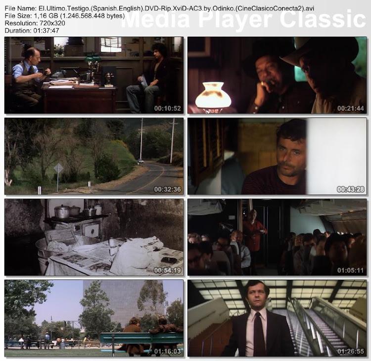 El último testigo   1974   The parallax view    Secuencias de la película