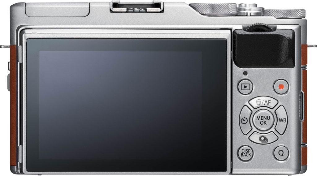 Fujifilm X-A5, вид сзади