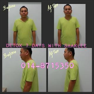 7 Days detox; slim; healthy; Shaklee detox; Shaklee Labuan; Shaklee kudat; Shaklee Kota Kinabalu; Shaklee port dickson; Shaklee balik Pualu ; Shaklee Labuan