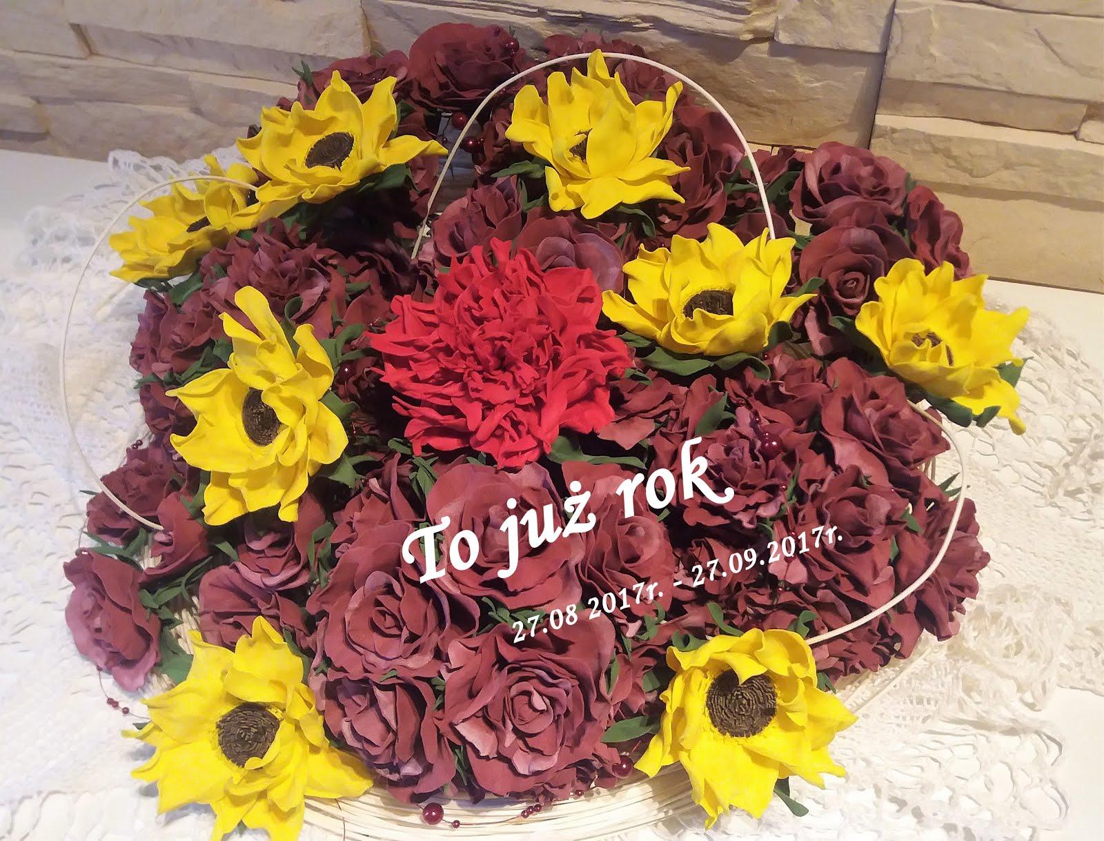 To już rok - Candy nie tylko kwiatowe!!!