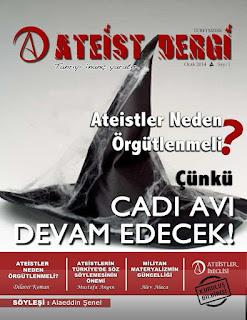 Ateist Dergi 1. Sayı Ocak 2014