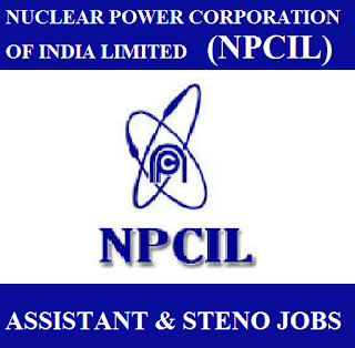 Nuclear Power Corporation of India Limited, NPCIL, TN, Tamil Nadu, Graduation, Assistant, Steno, freejobalert, Sarkari Naukri, Latest Jobs, npcil logo