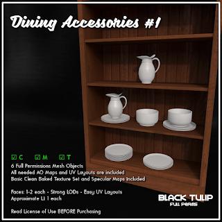 [Black Tulip] Mesh - Dining Accesories #1