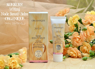 KONKURS! Wygraj Nude Beauty Balm Organique!
