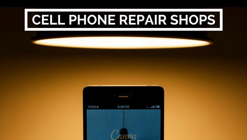 Cell phone repair shops near me