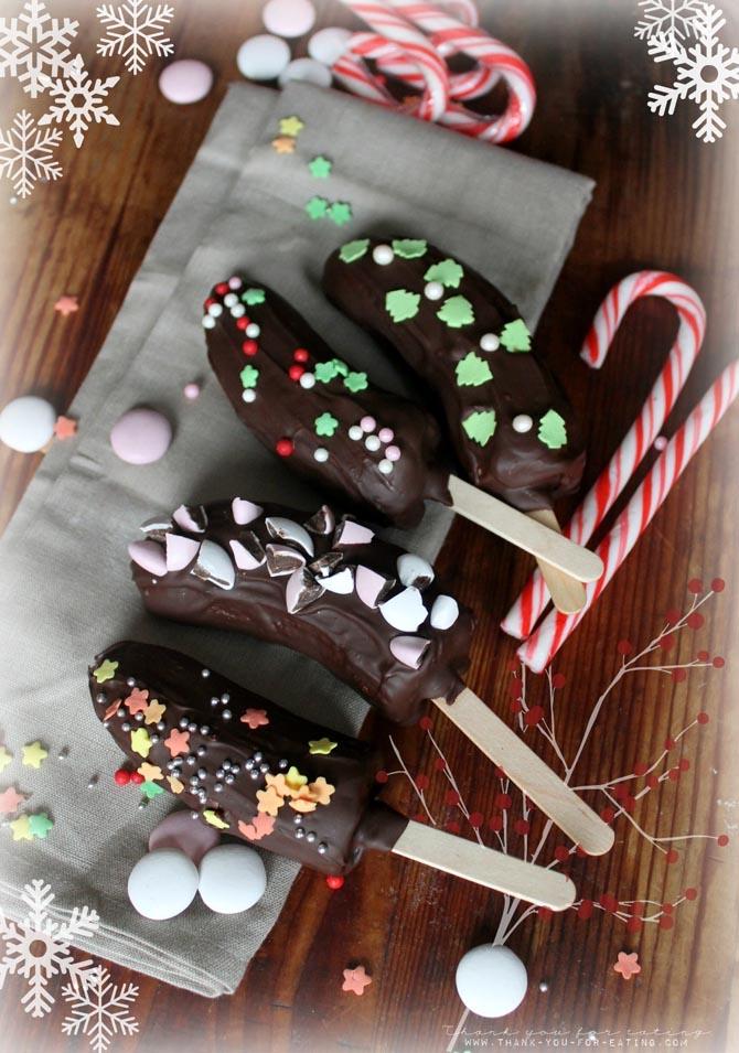 Tyfe Foodchallenge Der Weihnachtsmarkt Für Zu Hause Schoko Bananen