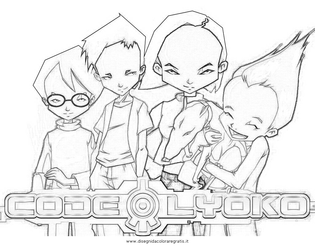 code lyoko coloring pages - photo#2