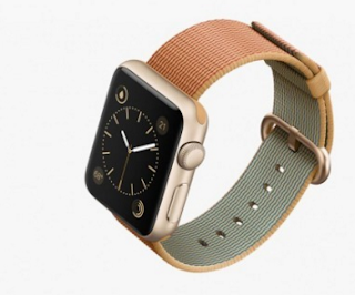 Apple Watch how nylon strap presented in front of consumers