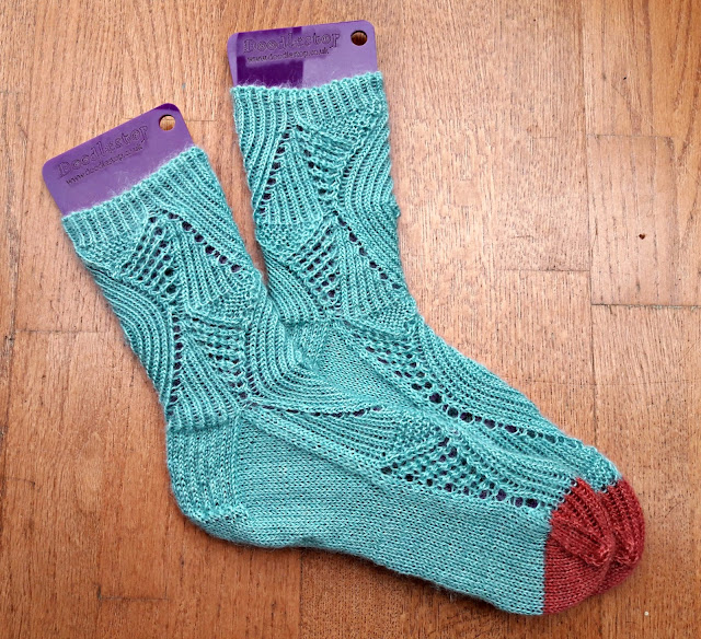 Magic Mirror Socks in Whistlebare Cuthbert's Sock