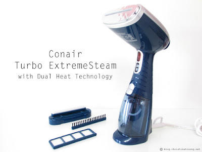 Conair Turbo ExtremeSteam Handheld Fabric Steamer Review