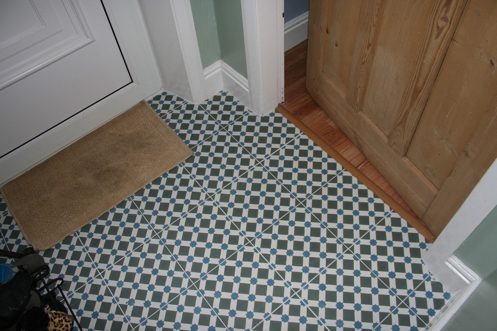 Made Good Things In My Home New Floor Tiles