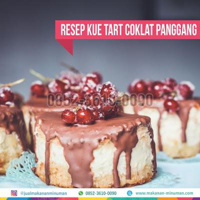 resep kue tart coklat panggang