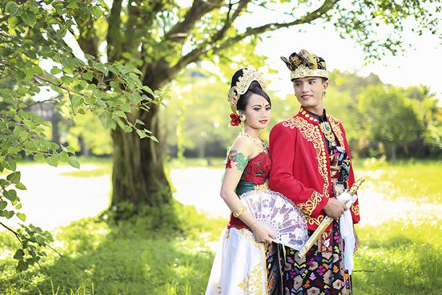pura jagatnatha lokasi prewedding di kota Negara