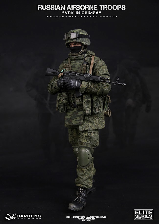 "DAM Toys 1/6 scale Russian Airborne Troops or ""VDV in Crimea"" [Lưu Trữ] -  Cafemohinh"