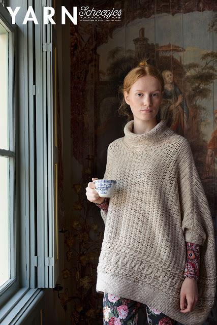 crochet knitting sewing patterns magazine poncho